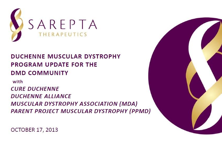 resumen webinar de sarepta therapeutics en ppmd  octubre