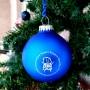 Bola Navidad Azul