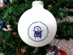 Bola Navidad Blanca